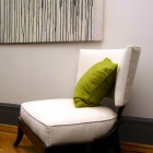 Chair in Bedroom detail, Thomas Burak Interiors, NYC New York
